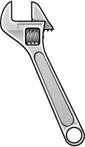 llave herramienta dibujo